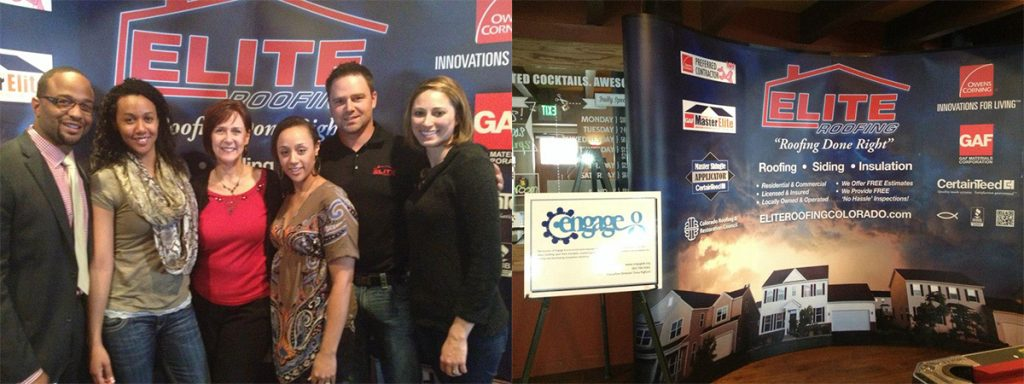 Some of the Elite Roofing family at the Engage 8 event.