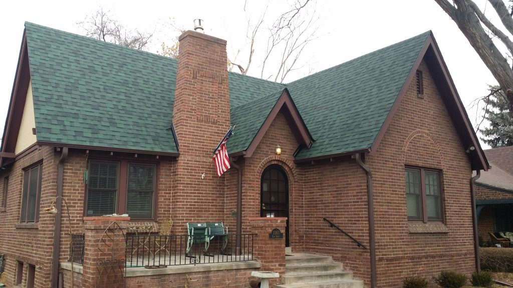 Elite Roofing installed this Owens Corning Chateau Green shingle last fall in Denver.