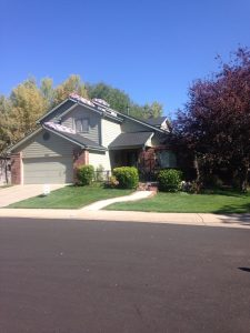 This Fort Collins roof has the materials and is ready to be re-roofed!