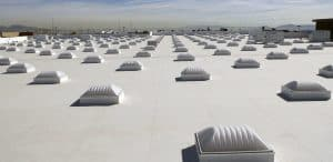 Successful TPO roofing installation by Elite Roofing in Denver.