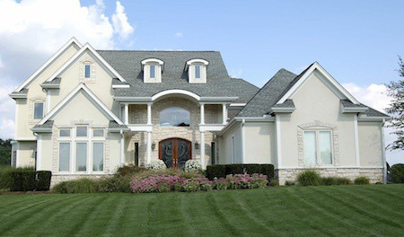 Gray shingled roof in Cherry Hills by Elite Roofing